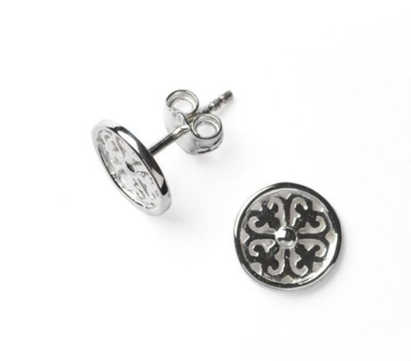 Southern Gates® Tiny Scroll Stud Earring (small)