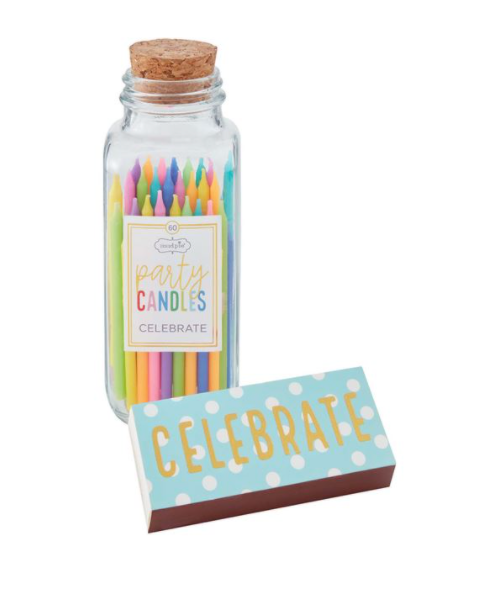 PARTY CANDLE & MATCH SET
