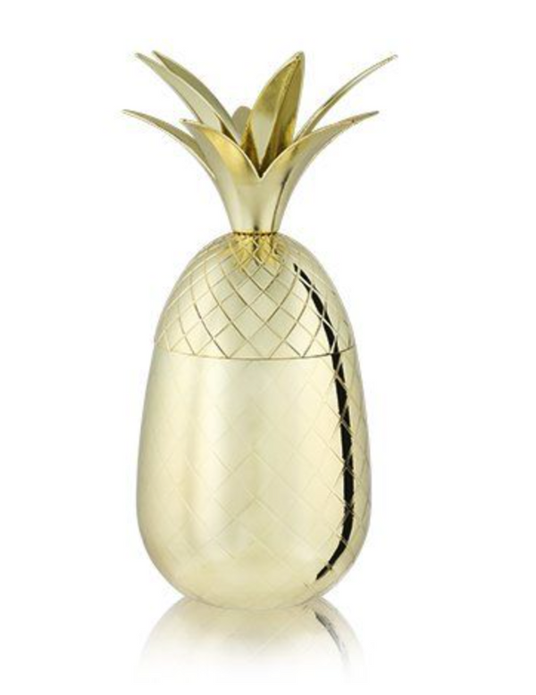 16oz Gold Pineapple Tumbler by Viski