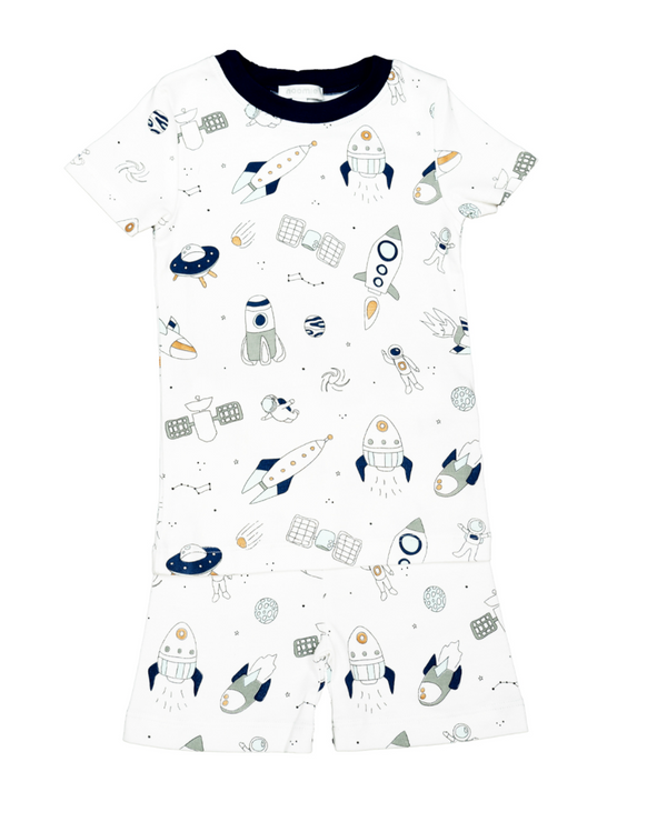 SPACESHIPS TWO PIECE PJ SS/SHORT