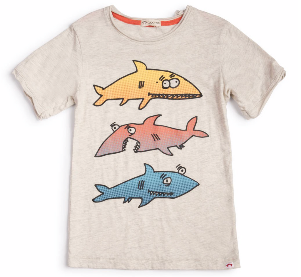 Sharkey Tee Boys Tshirt