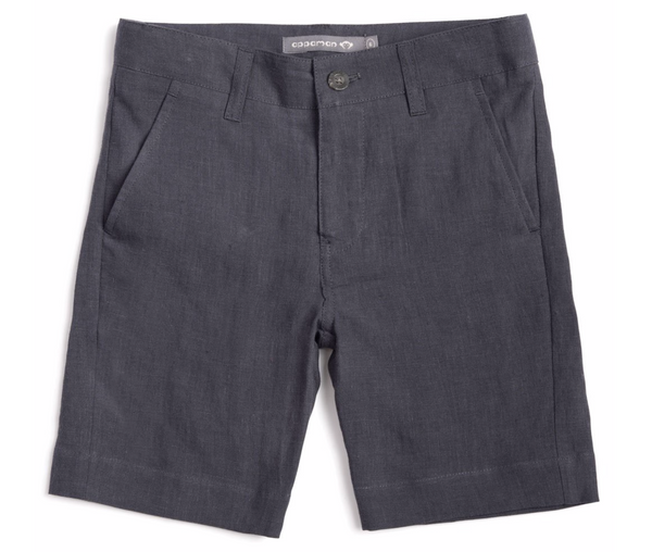 Appaman Boys Trouser Shorts - Dark Grey