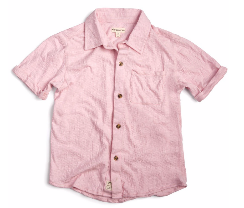 Appaman Boys Beach Shirt - Pink