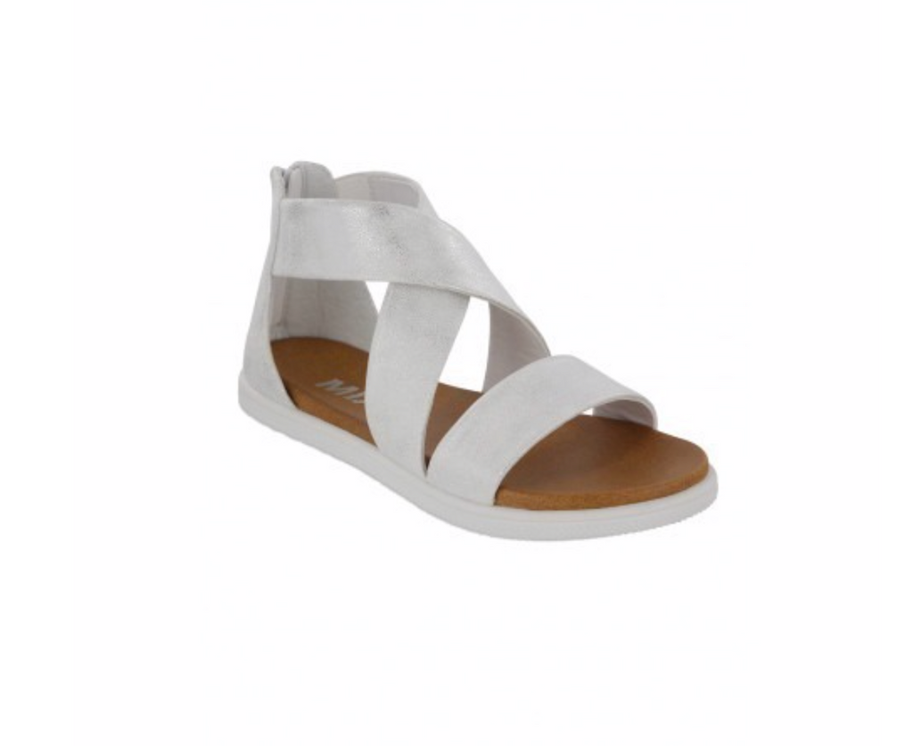 Kids Pattyy Sneaker Bottom Sandal - White