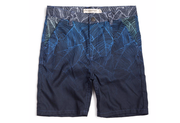 Boys Hybrid Ombre Palms Shorts