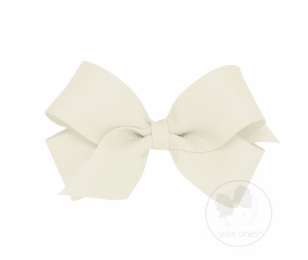 Mini Classic Hair Bow - 9 Colors