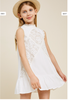 Ruffle Lace Swing Dress - 2 Colors