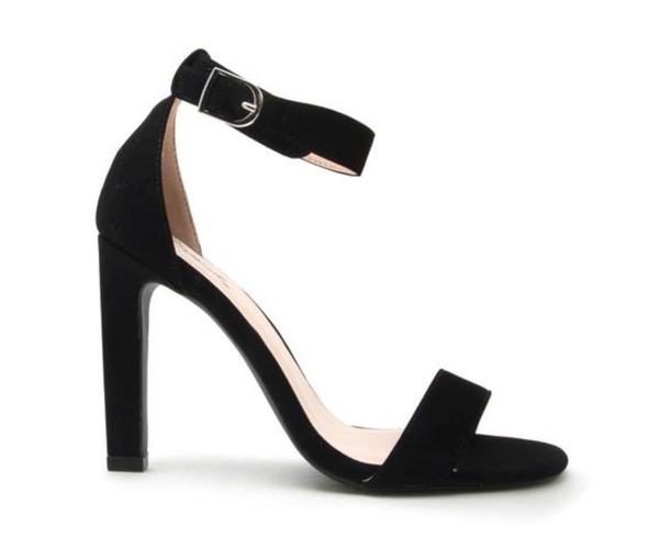 Hurst Strappy Heels - Black