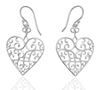 Southern Gates Heart Earring Holiday Series