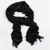Keleigh Scarf in Black/Gold