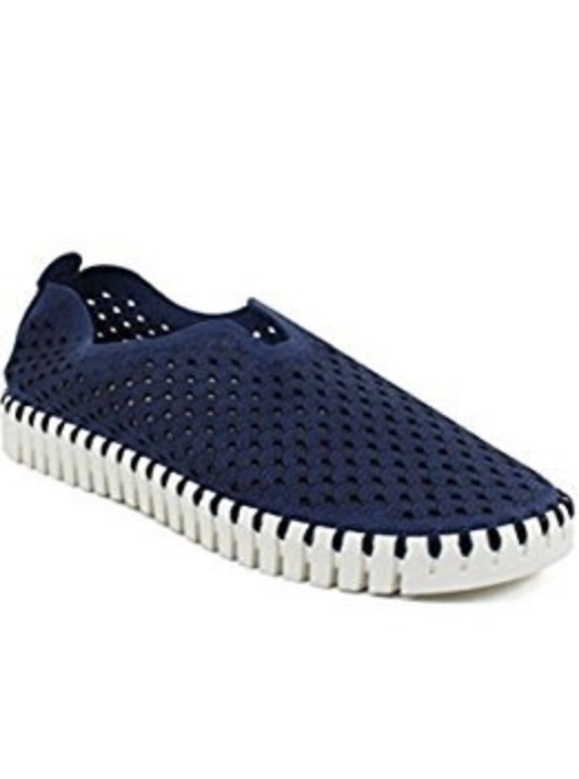 NAVY Tulip 139 Perforated Slip-On Sneaker