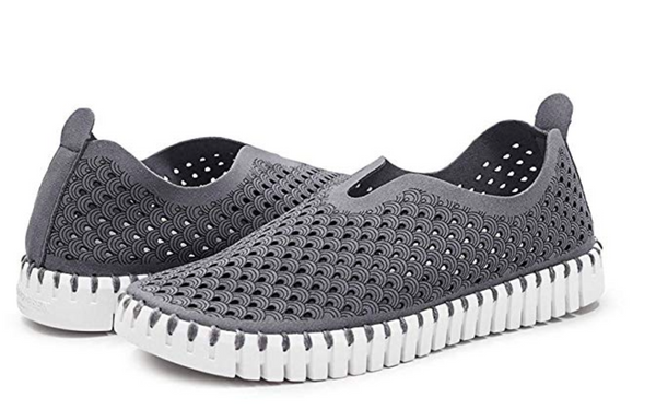 GREY Tulip 139 Perforated Slip-On Sneaker