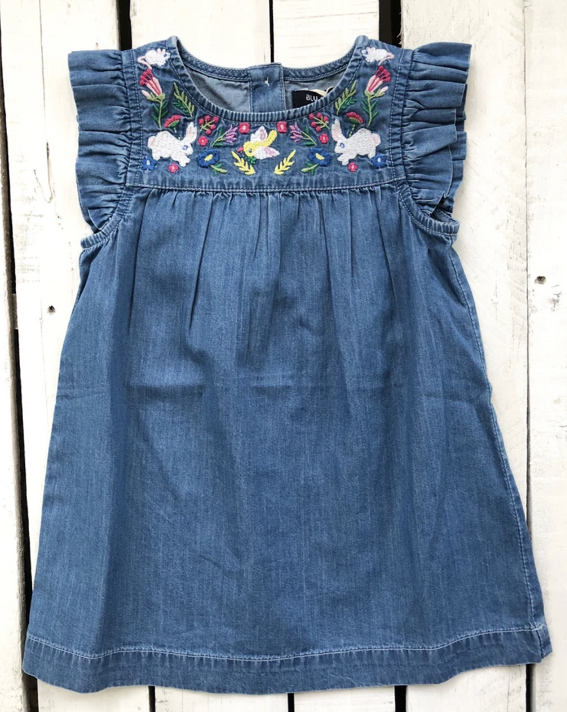 Blu & Blue Rabbit Dress