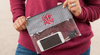 Clear Crossbody/Clutch Gameday Stadium Bags - Many Colors- Monogram