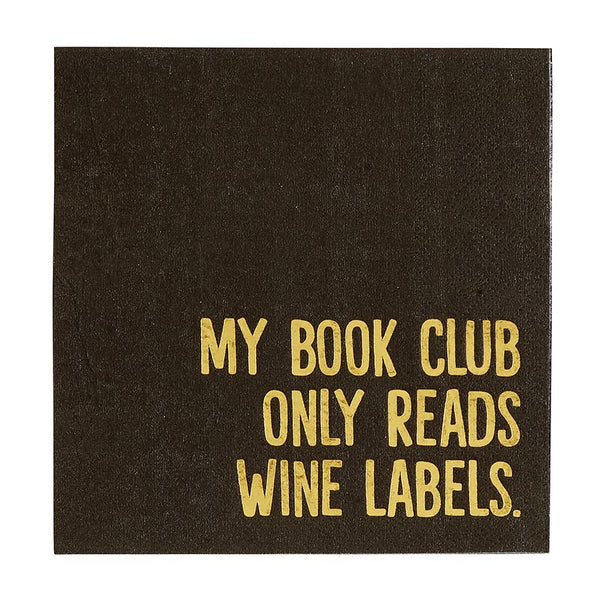 Book Club Cocktail Napkin