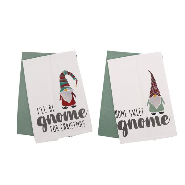 Gnome Dishtowels - 4 Styles