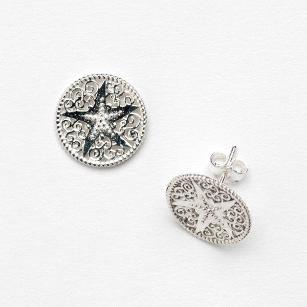 Southern Gates Harbor Starfish Stud Earrings
