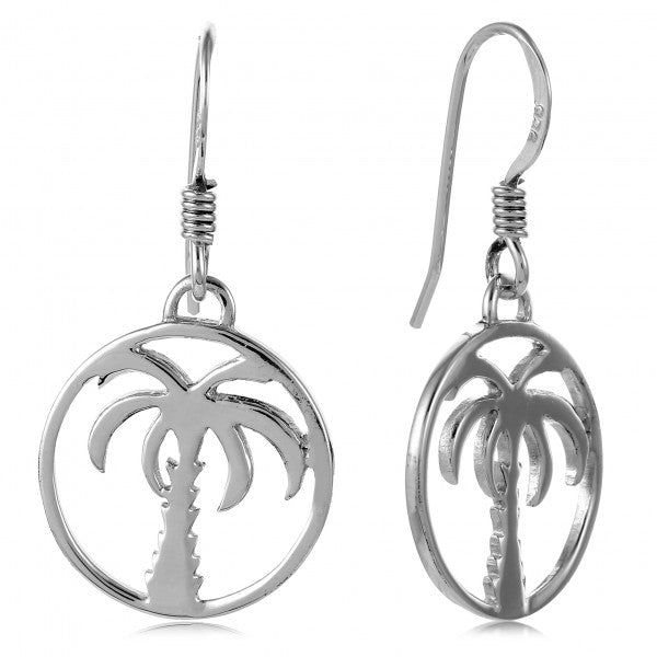 Southern Gates Palmetto Tree Earring