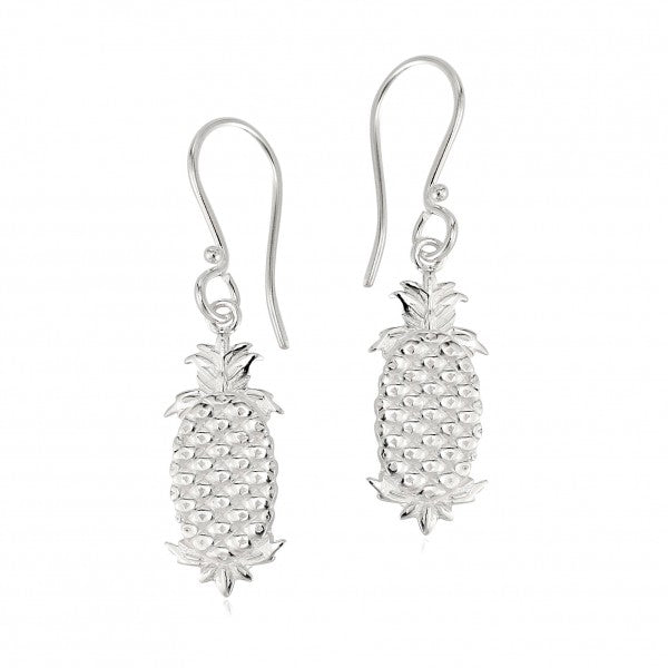 Southern Gates Plain Pineapple Charleston Earrings