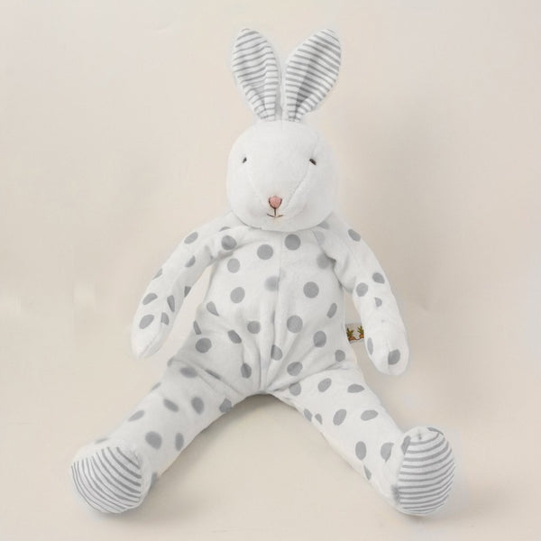 Polka Dot Plush Bunny - 2 colors