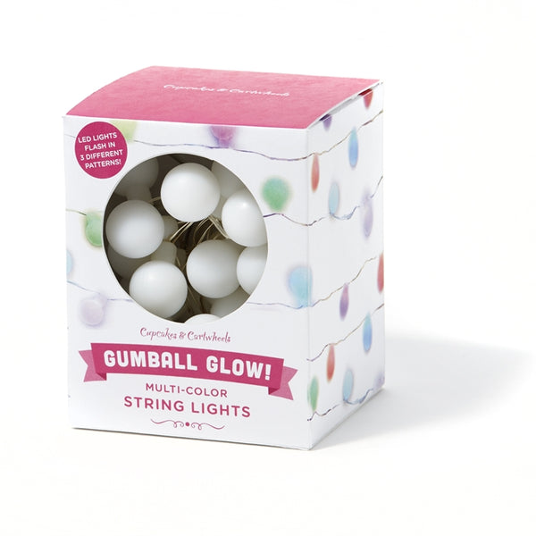 Color-Changing Gumball Lights in Gift Box-Kids and Home - Bubbles Gift Shoppe