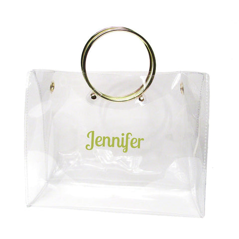 Clear Bags with Ring Handle for Game Time