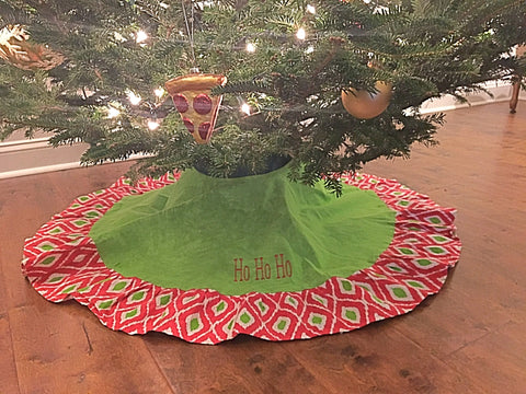 Ho Ho Ho Tree Skirt for the Home - Bubbles Gift Shoppe