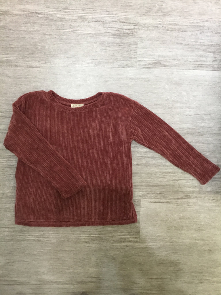 Corduroy Knit Sweater