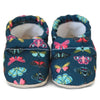 Happy as a Clam! Soft Soled Baby Moccasins Shoes
