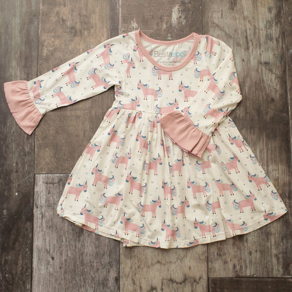 Bestaroo Unicorn Toddler Dress
