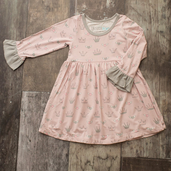 Bestaroo Crowns Toddler Dress