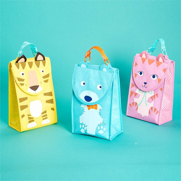 Animal Insulated Lunch Tote Bag- 3 designs - Bubbles Gift Shoppe