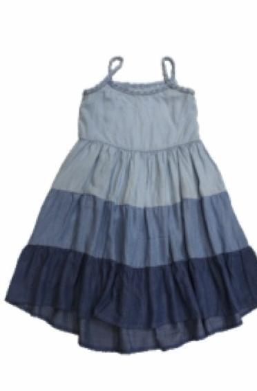 Noha Multicolored Tencel Dress- Tween