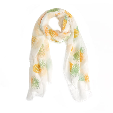 Pineapple Scarf - Bubbles Gift Shoppe