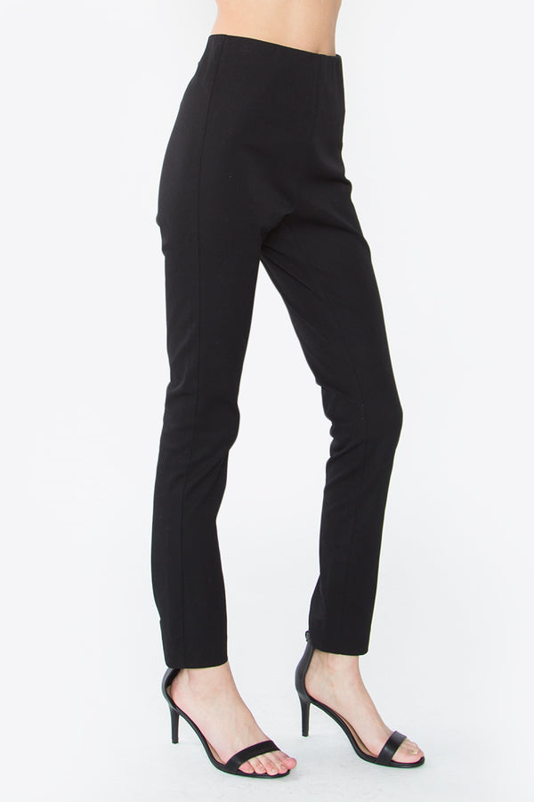 Black Pants with Back Zipper