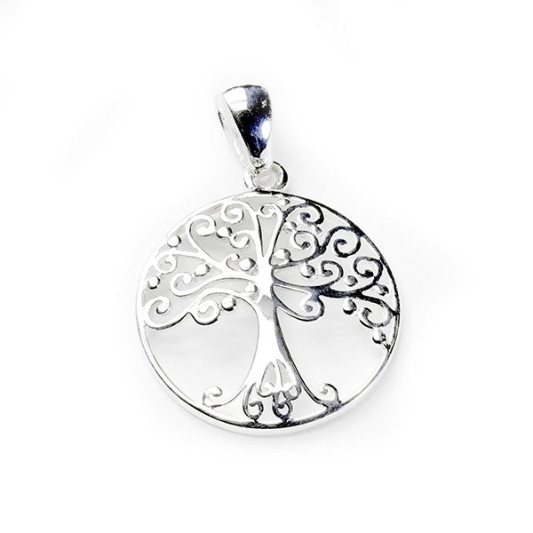 Southern Gates Medium Round Oak Tree Pendant