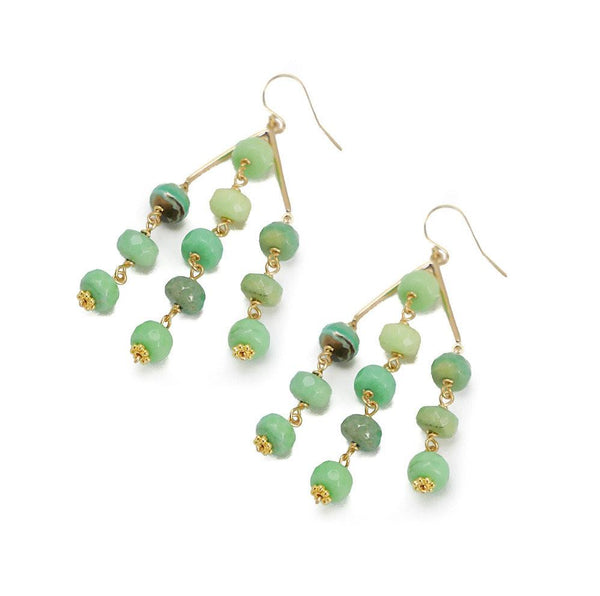 SUTTON STONE EARRING- 6 COLORS - Bubbles Gift Shoppe