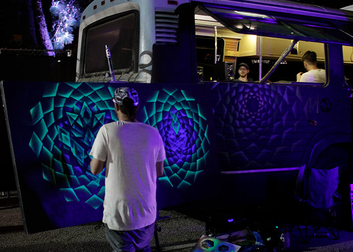 Eyemax Live Paint: Cannabis Cup SoCal 2017