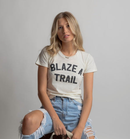 Nat Blaze a Trail Hemp Tee