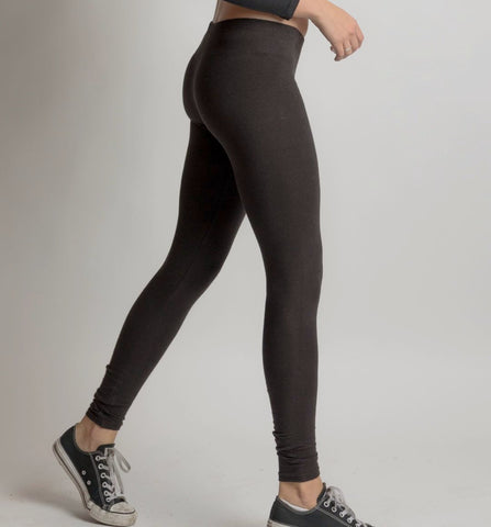 Black Hemp Leggings