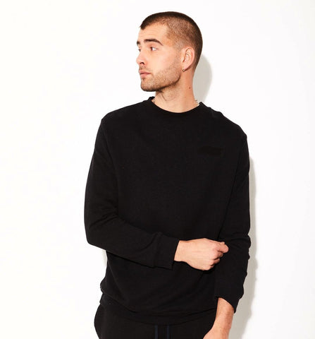 Black Hemp Sweatshirt