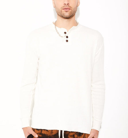 Natural Hemp Henley