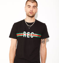 REC Stripes Hemp T-shirt