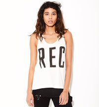 REC womens hemp tank top