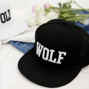 Hot Wolf Snapback Baseball Cap