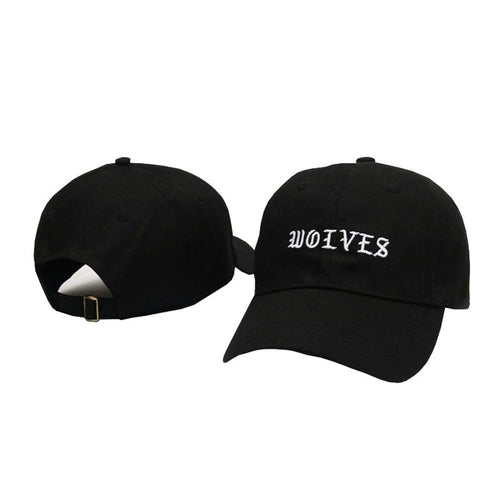 WOLVES Embroidered Adjustable Baseball Cap