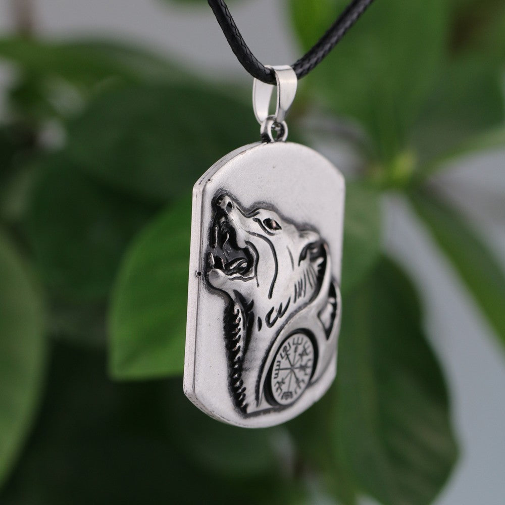 Wolf Amulet Necklace