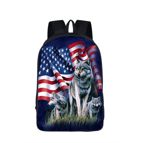 American Wolf Backpack