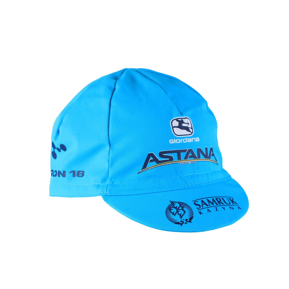 2019 Astana Pro Cotton Cap - Giordana Cycling