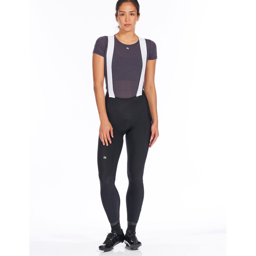 Fusion Women's Thermal Bib Tight - Pink - Giordana Cycling